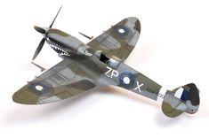 VIII by Brett Green Plastic Model Kits, Plastic Models, Spitfire Model, Plane Crafts, Supermarine Spitfire, Model Airplanes, Model Ships, Paper Models, Military Aircraft