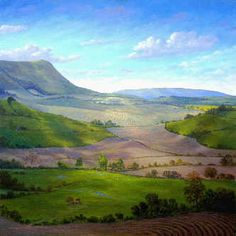 landscape paintings by