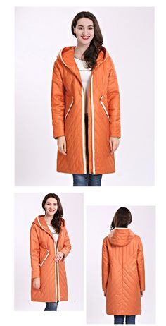 9d22dc39035 Ceprask 2018 High Quality Women S Coat Spring Autum Female Windproof Thin  Parka Long Plus Size Hooded