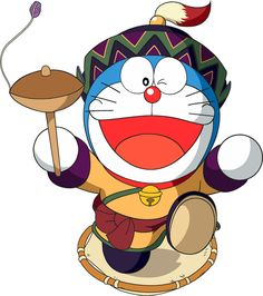 "Doraemon.  Un ""time lord' felino. ;)"