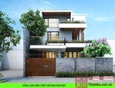 mặt đứng nhà phố - Tìm với Google Architecture Design, Facade Design, Exterior Design, Ultra Modern Homes, Small Modern Home, Front Elevation Designs, House Elevation, Minimalist House Design, Modern House Design