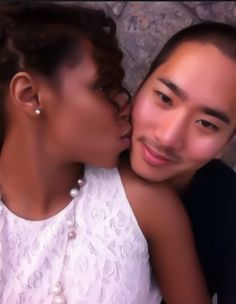 Jamaican and Chinese...Whoop whoop! Shout out to all the Jamaican girls who love Asian men. Including myself ^_^