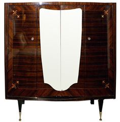 todd hase - 1940s french macassar armoire