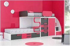 Dormitorio juvenil  camas literas /   Bunk Beds http://www.decorhaus.es/es/ #muebles #furniture #decoracion