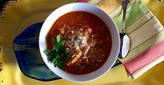 Meatball Parm Soup