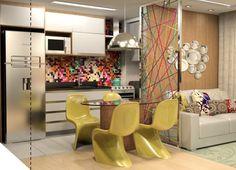 sala de tv com jantar casa - Pesquisa Google
