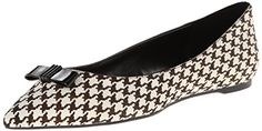 Enzo Angiolini Women's Collay Pony Ballet Flat, Black/Multi, 6 M US | Your #1 Source for Jewelry and Accessories