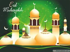 Best Eid Mubarak Images 2017 Images of eid wishes are very look like very wonderful and amazing due to their unique style. Eid Mubarak In Urdu, Happy Eid Mubarak Wishes, Eid Mubarak Images, Eid Al Fitr, Facebook Image, For Facebook, Fest Des Fastenbrechens, Ramadan End, Eid Eid