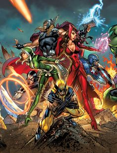 Marvel Comic Art