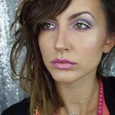 """Purple no eye liner look ! "" Photo taken by @paulina_allure on Instagram, pinned via the InstaPin iOS App! http://www.instapinapp.com (09/11/2015)"