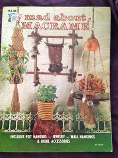 Mad About Macrame' Pattern Book by Melamoon on Etsy, $5.00