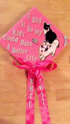 girly bible verse graduation cap decorated school pinterest