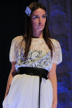 Lace top and long skirt by Coo Culte