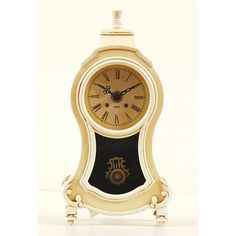 Ashton Sutton Company Boutique Pendulum Table Clock ~ Bellacor $38.95