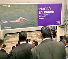 Muerta de la risa😂😂 (Paris ville innovante et durable à l'honneur dans le métro de Mexico ! )