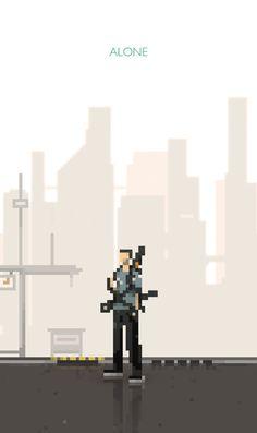 Pixel Art by Eliud , via Behance