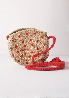 Princess Bag Polka dot red