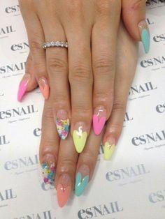 Flower nail - This fashion