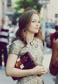 Leighton Meester/ Blair Waldorf has the most incredible wardrobe ever. What I wouldn't give to see her closet!