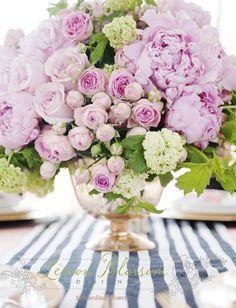 Peonies & roses