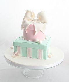 Gift box cake   Flickr - Photo Sharing!