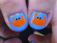crab nail art - Google Search