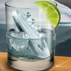 titanic ice cube tray!