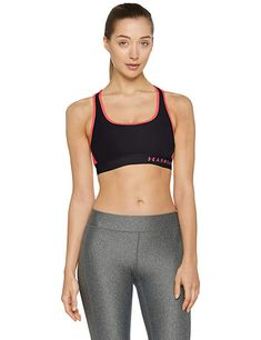 17cb1a2a6b Under Armour Women s Armour Mid Crossback Sports Bra Review Under Armour  Women