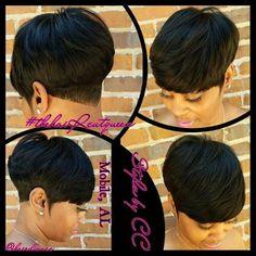 Short hair style&cut