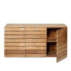 Horizontal 3 door cabinet