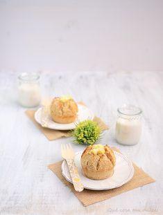 ¡Qué cosa tan dulce!: Skoleboller...bollos noruegos con coco y crema