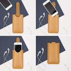 iPhone by Johny Todd showing how the phone fits