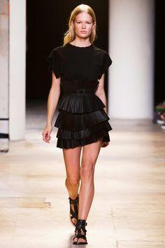 Isabel Marant Spring 2015 RTW - Paris Fashion Week