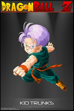Dragon Ball Z - Kid Trunks by DBCProject