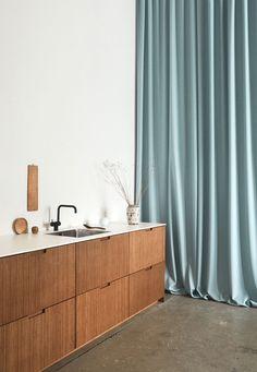 Ikea Upgrade: Stylish, Sustainable Bamboo Cabinet Fronts for Ikea Kitchen Cabinets Kitchen Cabinets Fronts, Wooden Kitchen Cabinets, Cabinet Fronts, Ikea Cabinets, Bamboo Cabinets, Cuisines Design, Interiores Design, Kitchen Design, Furniture Design