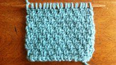 The Half Linen Stitch :: Knitting Stitch #25 :: New Stitch A Day