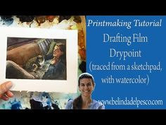 Art Lesson: Beginner set up & carving for Linocut Relief Printmaking - YouTube
