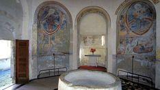 Battistero San Giovanni, Riva San Vitale Early Christian, Medieval Art, San, Painting, Painting Art, Paintings, Painted Canvas, Drawings