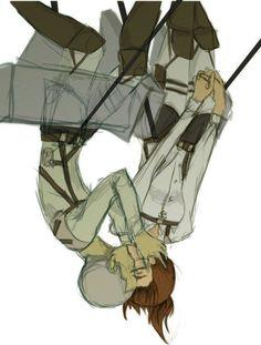Attack on Titan (SnK) - Connie Springer x Sasha Blouse - Springles Attack On Titan Ships, Attack Titan, Connie Springer, Eremika, Ymir, Mini Comic, Levihan, Couple Cartoon, Manga Games