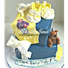 Ralph Lauren Polo Bear Inspired Cake! @CakesByJanet_4KielyQ #CakesByJanet  Www.KielyQDesignsStudio.com