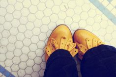 Can't get enough of yellow shoes!