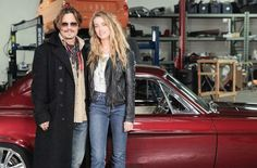 Amber Heard et johnny depp.
