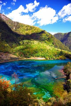 JiuZhaiGou, amazing place in west China,
