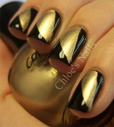 Looks like nails I should do for the Saints games