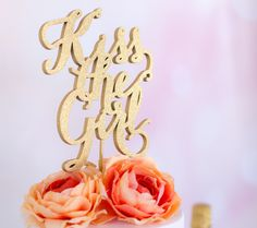 Wedding Cake Topper- Kiss the Girl-Disney Inspired-The Little Mermaid
