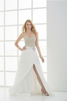 Stretch satin, Chiffon Floor-length Sweetheart Champagne, White Sexy, Modern, Unique Evening Dresses Formal Evening, Prom Party