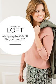 """""""It's incredible what you find when shopping off the beaten track."""" – Lauren S, thrifty shopper. thredUP's curated collections feature never-before-seen finds and some never-before-worn pieces from brands you love. The next generation of secondhand is here. Sign up at thredUP.com to shop today."""