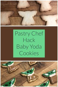 Then try this pastry chef hack Sugar Cookie Dough, Sugar Cookies Recipe, Christmas Cookie Cutters, Christmas Cookies, Angel Cookies, Pink Icing, Sweet Pastries, Pastry Recipes, Pastry Chef