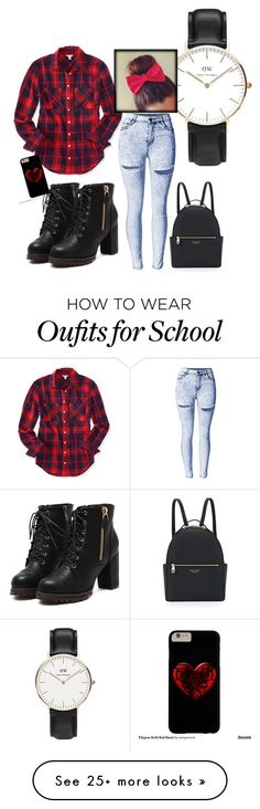 """""""old school"""" by jennross76 on Polyvore featuring Daniel Wellington, Aéropostale and Henri Bendel"""