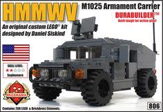 Brickmania -  HMMWV M1025 Armament Carrier (Gray), $65.00 (http://www.brickmania.com/hmmwv-m1025-armament-carrier-gray/)
